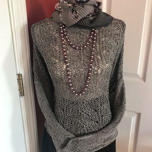 Beautiful Black crop sweater